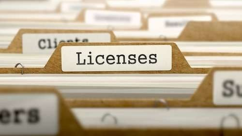 A Business License - 3