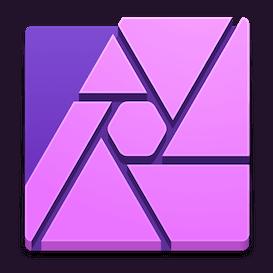 Logo of Affinity Photo for mac