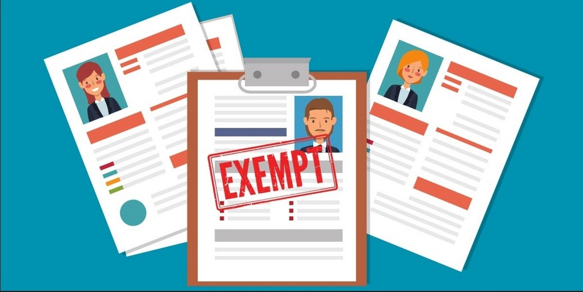 Exempt Employees - 1