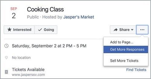 Facebook Event & Event Response Ads - 3