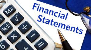 Financial statements - 1