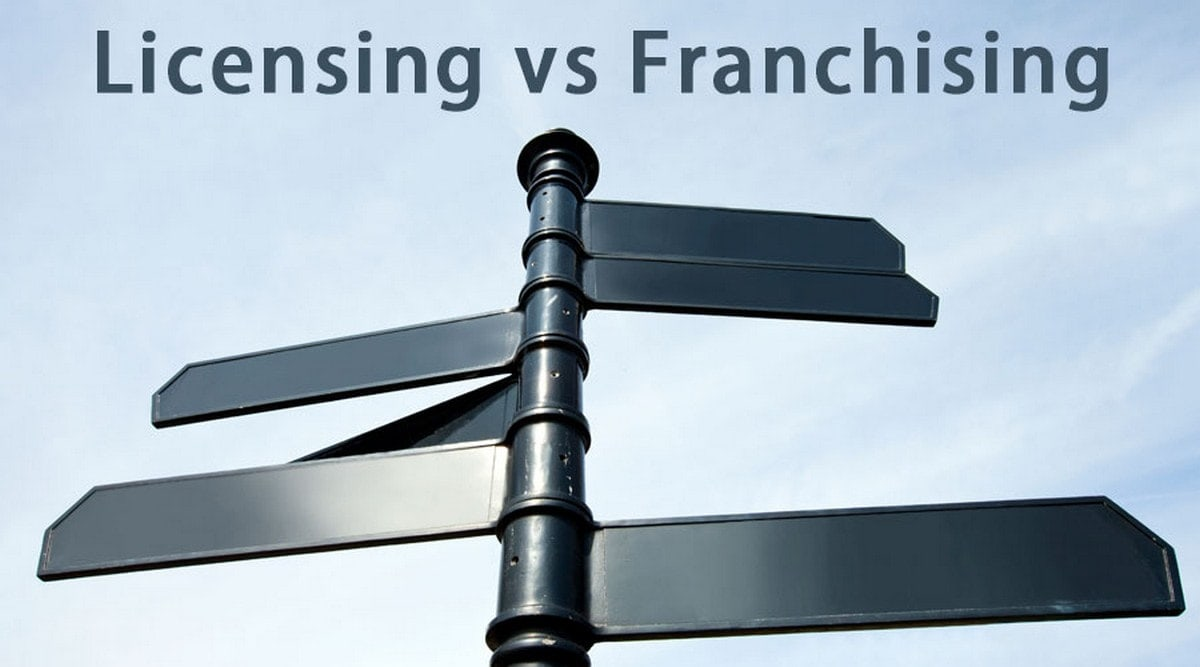 Franchising and licensing - 1