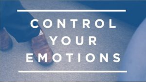 How To Control Emotions - 1