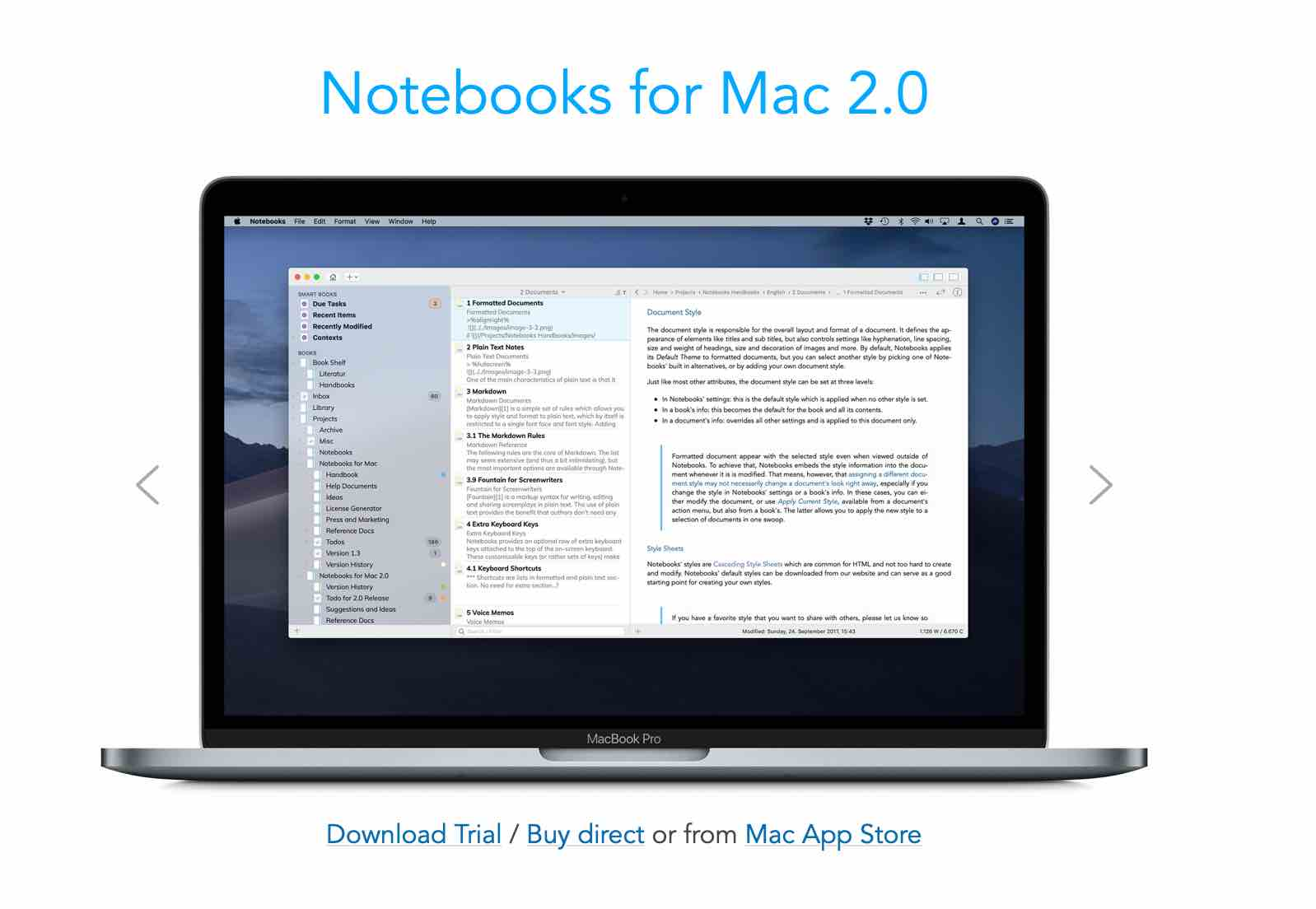 Writing software for Mac