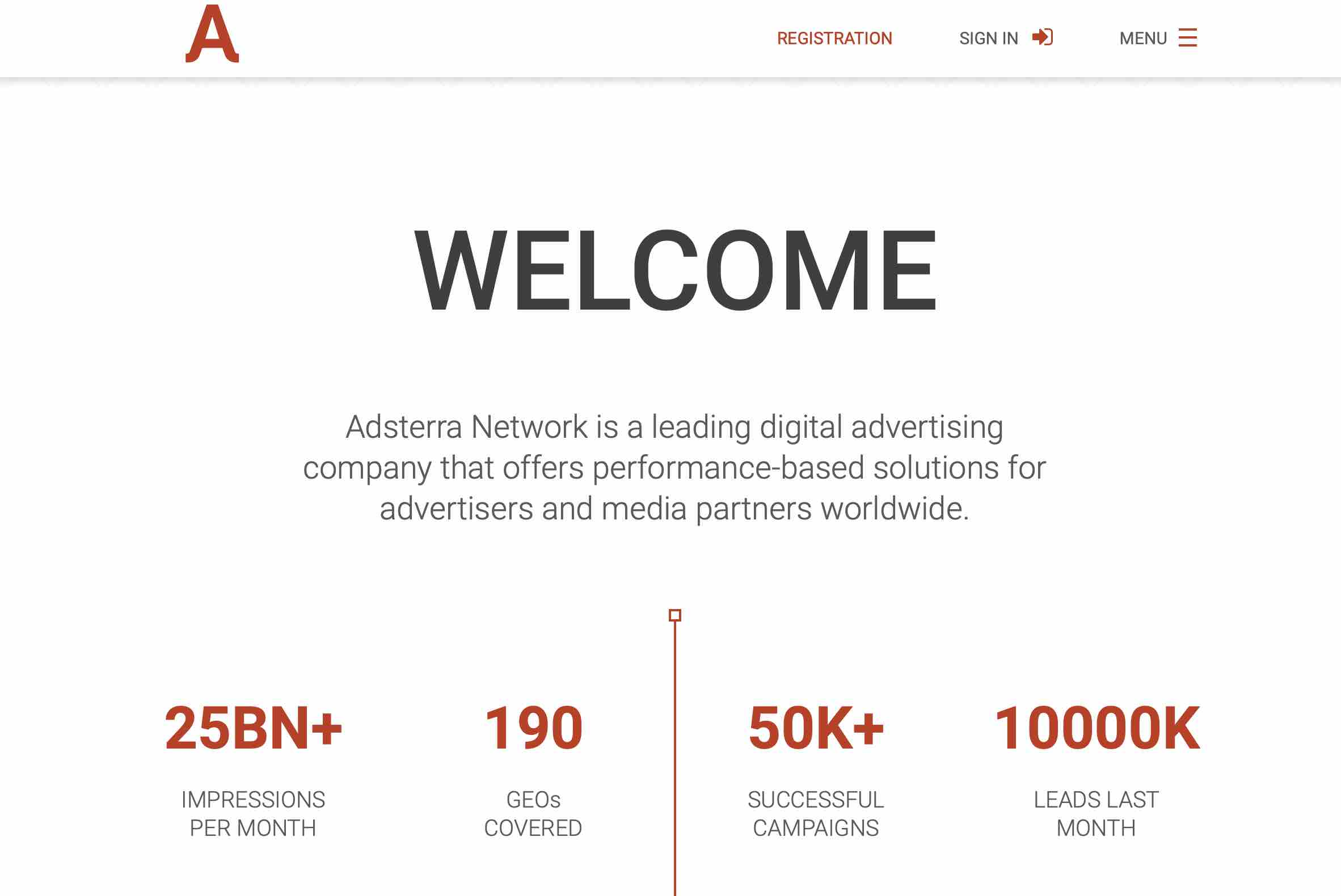 offers performance-based solutions for advertisers and media partners worldwide
