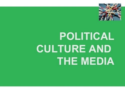 Types of Political Culture - 1