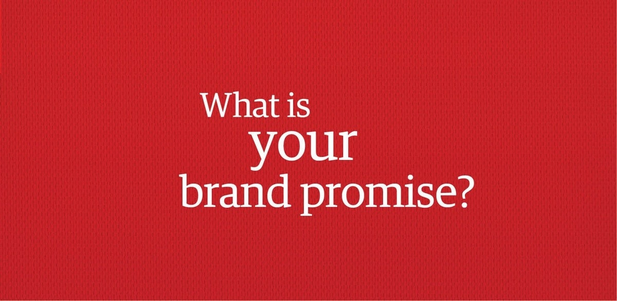 What is Brand promise - 1