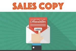 What is a sales copy - 1