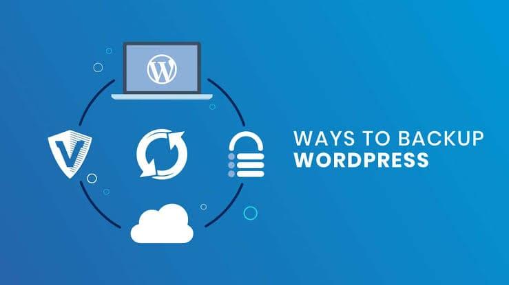 Methods to take backup of website