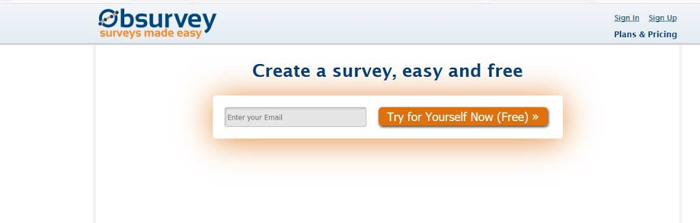 Create a survey, easy and free