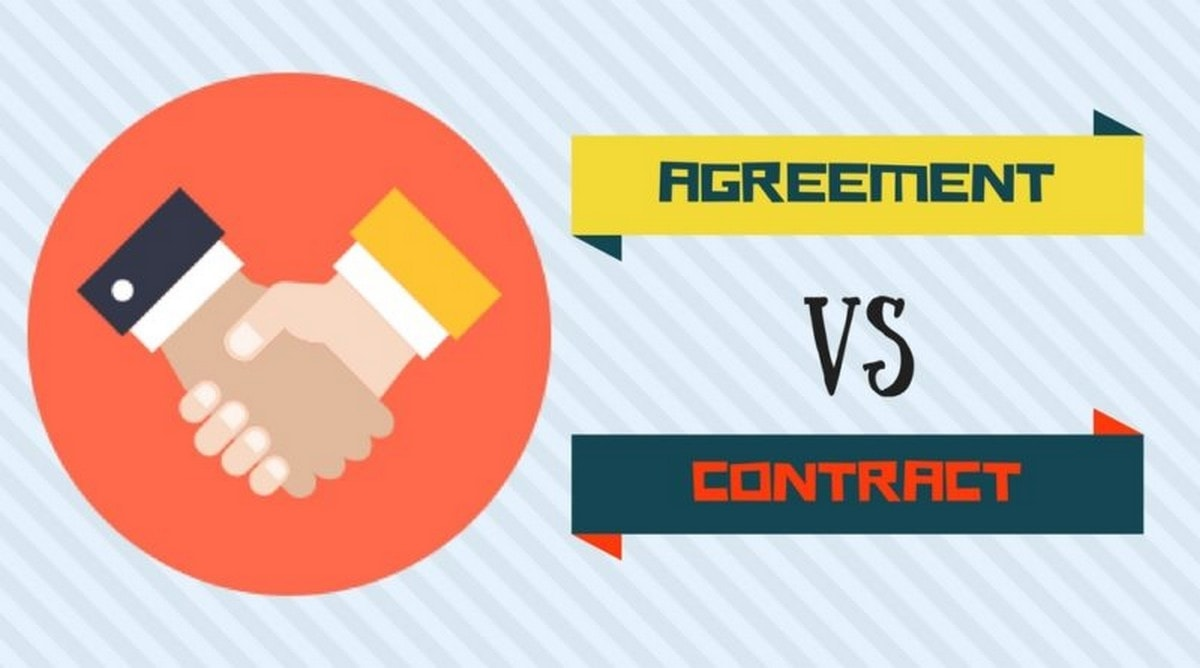 Agreement versus Contract - 1