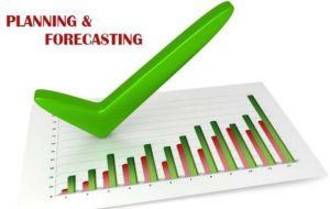 Difference between Forecasting and planning