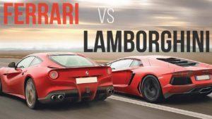Ferrari vs lamborghini - 1