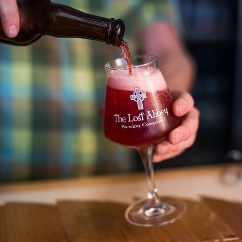 #7 The Lost Abbey Cable Car Kriek