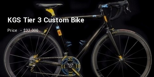 #15 KGS Tier 3 Custom Bike