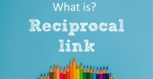 Reciprocal Links - 1