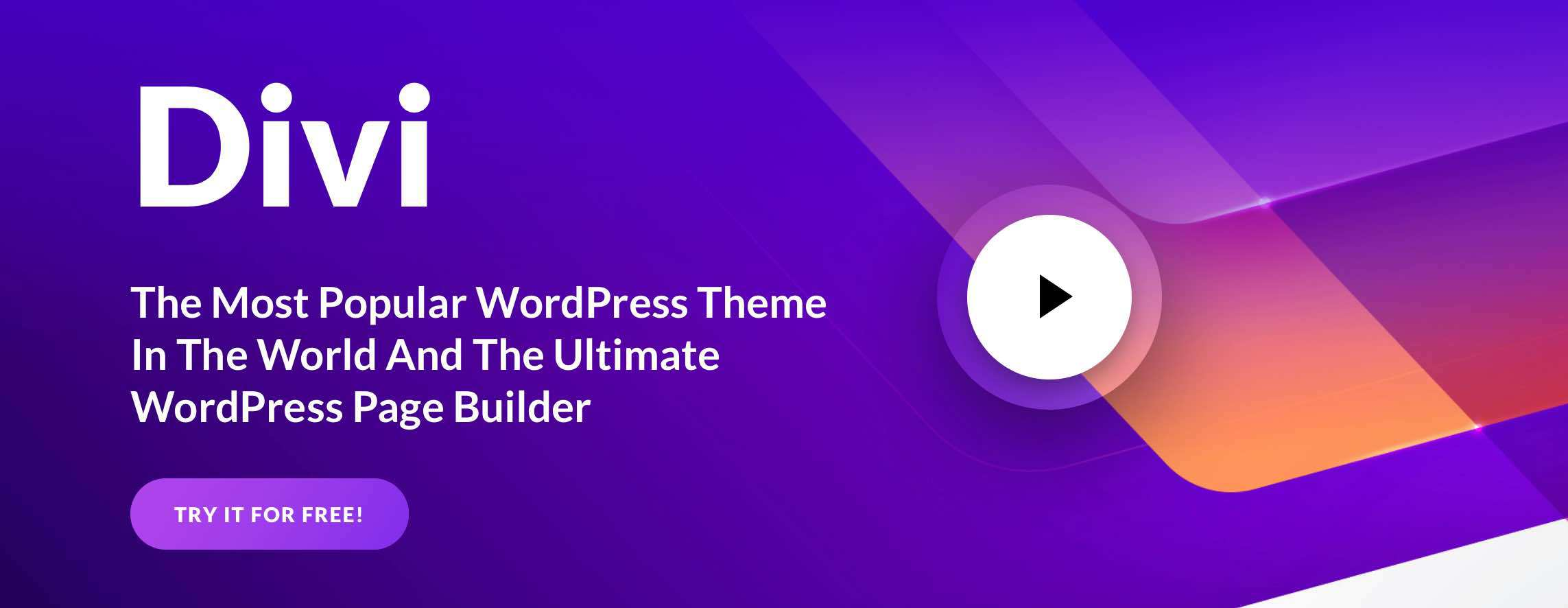 Divi - самая популярная тема WordPress
