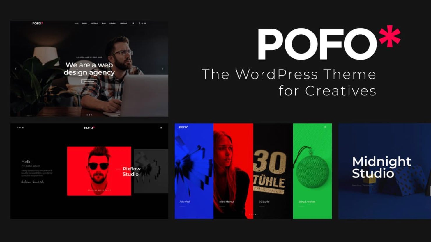 WordPress theme for creatives
