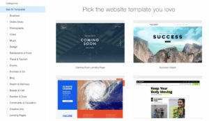 Choose a stunning template and customize anything with the Wix website builder