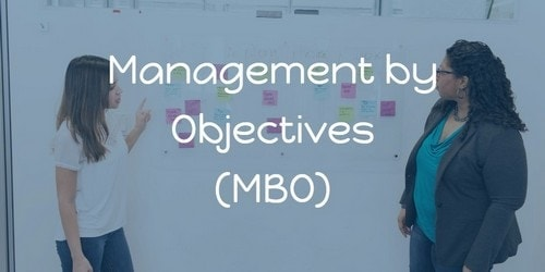 management by objectives - 3