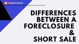 Foreclosure and Short Sale - 1