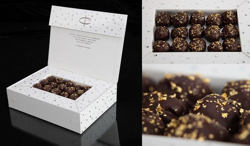 Swarovski studded Chocolate