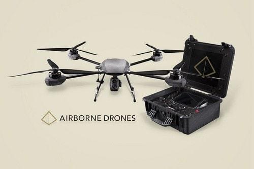 #6 AIRBORNE DRONES: VANGUARD