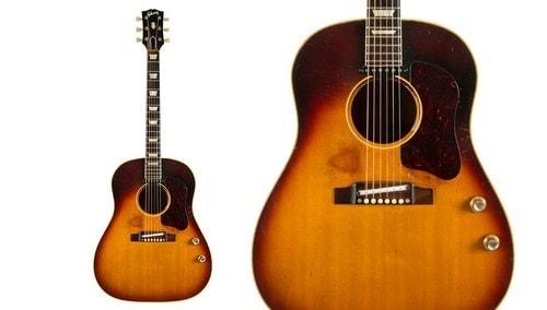John Lennon's 1962 Gibson J – 160E Acoustic - Electric