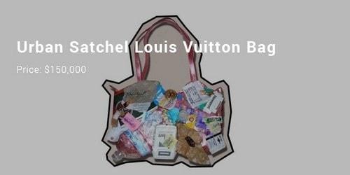 Most Expensive Handbags - Urban Satchel Bag Louis Vuitton