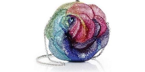 Most Expensive Handbags - Judith Leiber Precious Rose Bag
