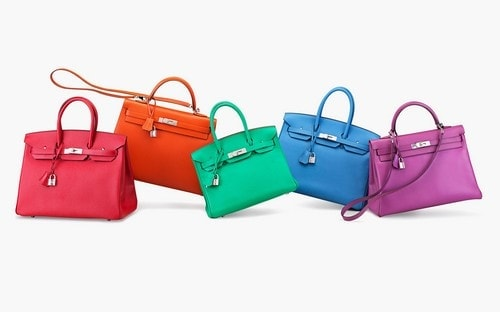 Most Expensive Handbags - Hermes Exceptional Collection Shiny Rouge H Porosus Crocodile 30 cm Birkin Bag