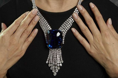Most Expensive Jewellery - Blue Belle of Asia