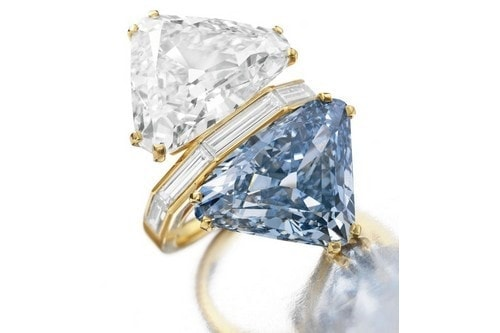 Most Expensive Jewellery - Bulgari Two-Stone Diamond Ring