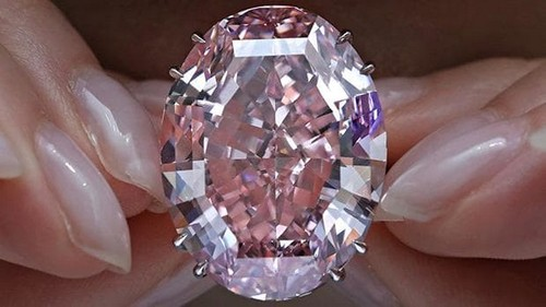 The Pink Star Diamond Ring