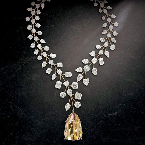 "The ""Incomparable"" Diamond Necklace"