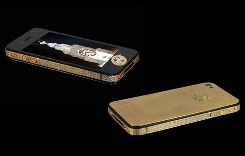 #3. Stuart Hughes iPhone 4S Elite Gold