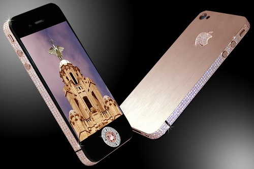 #4. Stuart Hughes iPhone 4 Diamond Rose Edition