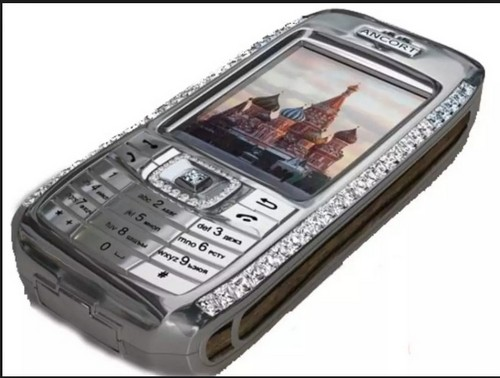 #7. Diamond Crypto Smartphone