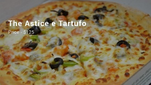 #11. The Astice E Tartufo Pizza