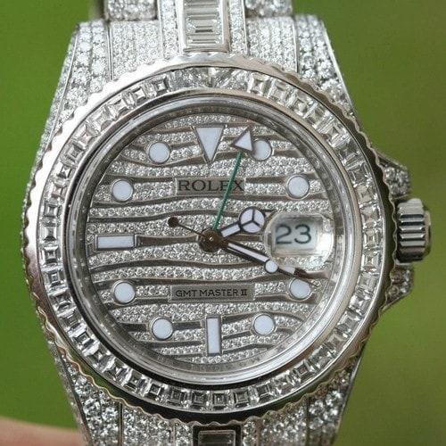 #12. Rolex GMT 116769TBR