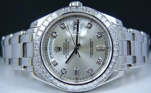 #16. Platinum Diamond Pearlmaster