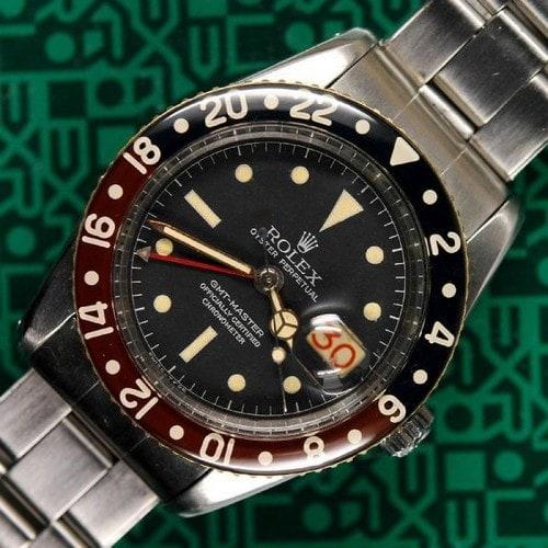 #5. 1958 Rolex GMT Master