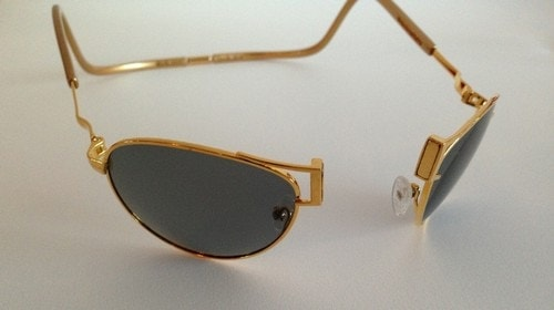 #5. CliC Gold 18 Carat Gold Sports Sunglasses