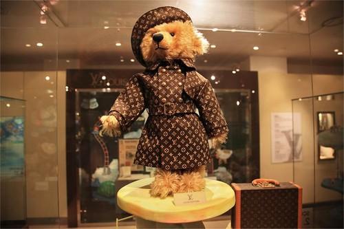 #6. Steiff Louis Vuitton Teddy Bear