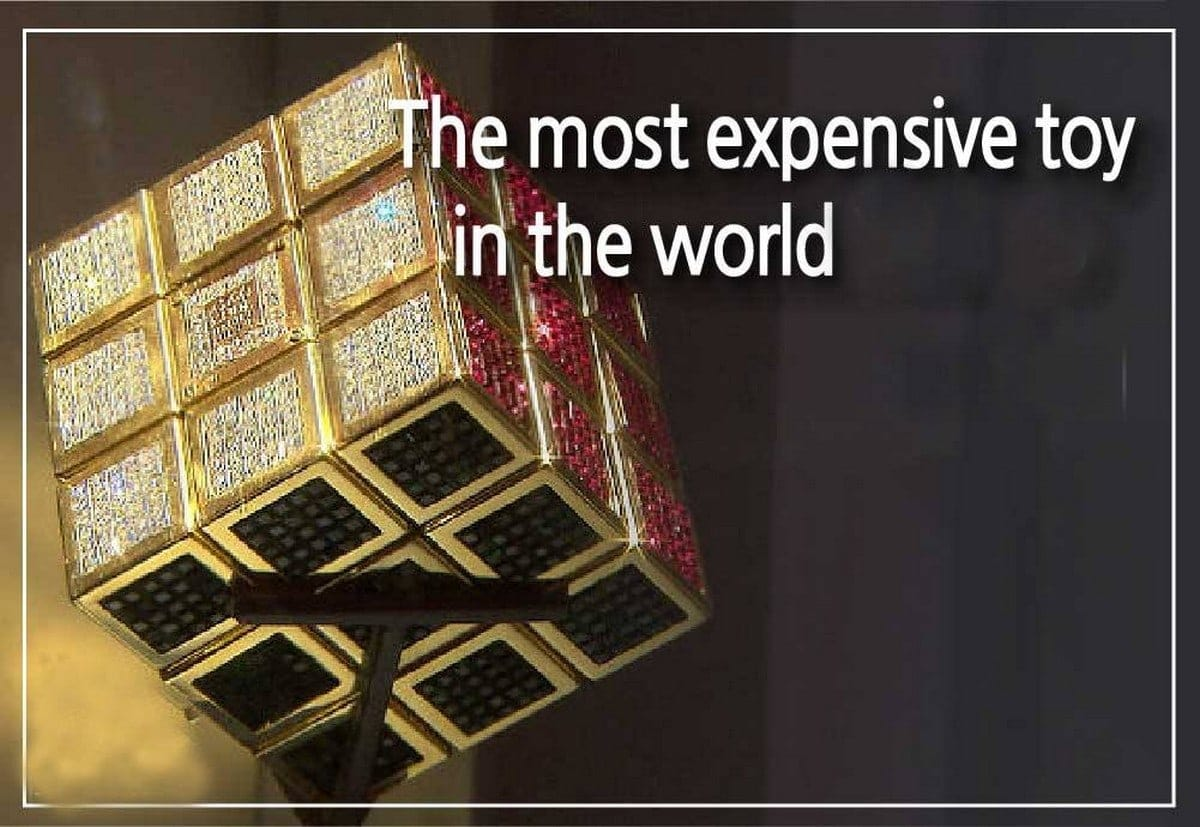 Most Expensive Toy