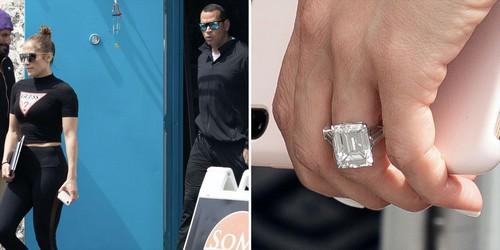 #5. Jennifer Lopez's Expensive Wedding Ring