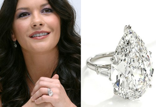 #8. Catherine Zeta Jones's Ring