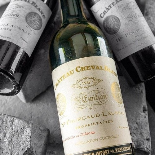 #3. 1947 Cheval Blanc Expensive Wine