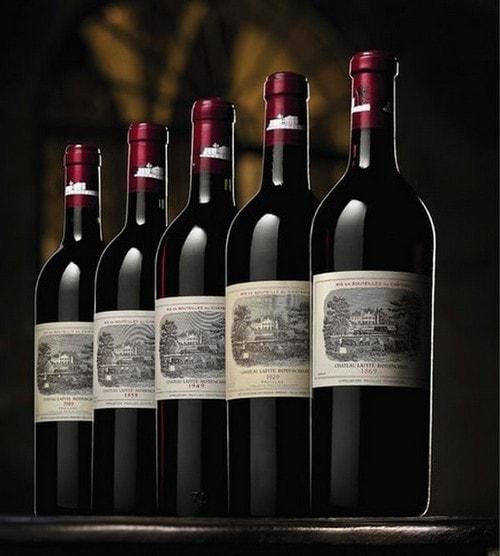 #5. Chateau Lafite 1869 Expensive Wine