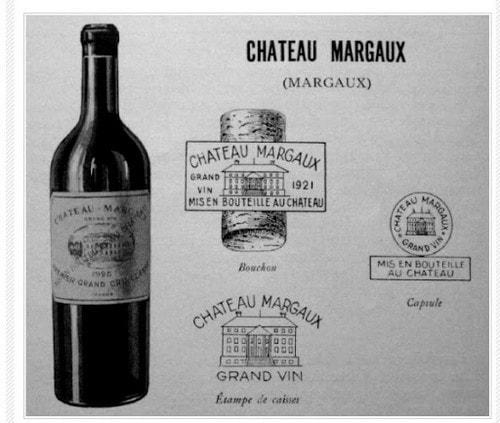 #6. Chateau Margaux 1787